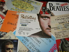 PHIL COLLINS CONCERT TICKET STUB BOTH SIDS TOUR 94