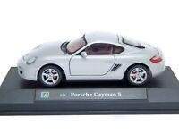 Porsche Cayman S Boxster 987, Silver, Cararama 1/24 Model Car
