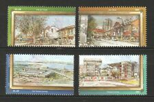 SINGAPORE 2011 AREAS OF HISTORICAL SIGNIFICANCE COMP. SET OF 4 STAMPS MINT MNH