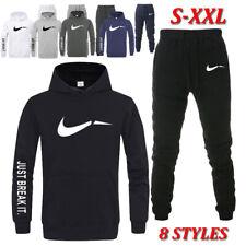 Herren Sport Hose&Hoodie Trainingsanzug Kapuzenpullover Jogging Anzug Asia S-2XL