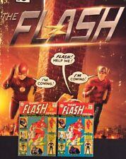 FLASH #1 Giant Annual Comic Book DC 1963 + Reprint 2001 + TV Show Promo Poster
