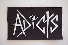 "Adicts Cloth Patch Sew On Badge Varukers Punk Rock Music Approx 5.5""X3"" (CP50)"