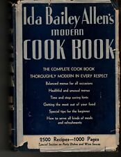 1935 Ida Bailey Allen's Modern Cook Book ~ 2500 Delicious Recipes +16 pg. extra