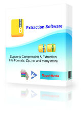 Unzip Extraction and compression software - Works With WinRar and WinZIP