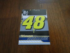 2010 Press Pass Jimmie Johnson Gold Card #89