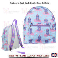 Childrens Kids Girls School Bag Rucksack Luna Caticorn Backpack Sass & Belle