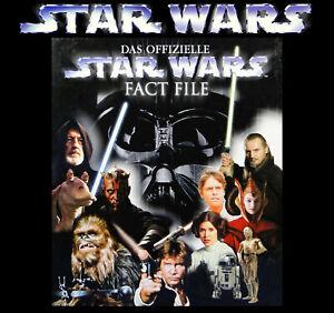 STAR WARS - FACT FILE Komplett! Files 1 bis 120 & Index & Ordner & Super Zustand