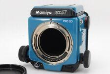 "【Rare! Repaint】 Mamiya RZ67 Pro IID II D ""Blue"" Medium Format Film Camera R3588"