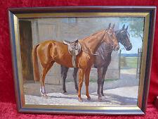 sehr schönes,altes Gemälde__Pferde__Fritz Schulze-Blank__!