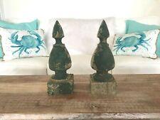 Un par de pequeñas Victoriano Desplazado Soportes De Hierro Fundido 4 pulgadas Estante De Pared Soporte
