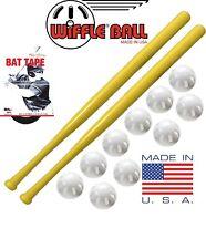 Wiffle® Ball + Bat Combo Set - 10 Wiffle® Balls, 2 Wiffle® Bats, Plus Bat Tape