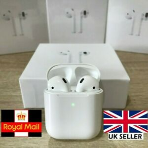 Air 2 Wireless Ear Pods Siri Earphones Bluetooth Buds Android iPhone True Stereo