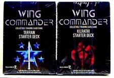 Mag Force 7 Wing Commander  CCG Starter Deck Set of 2 New from 1995