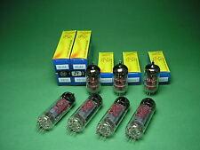 Röhrensatz  = 4 x EL84 JJ (matched Quad) + 3 x ECC83S JJ NEU -> tube amp