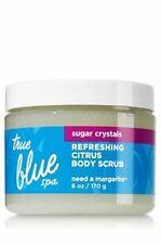 NEW Bath & Body Works True Blue Spa Refreshing Citrus Scrub Need a Margarita