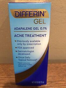 1 Of Brand New Differin Gel Adapalene Gel 0.1% Acne Treatment Exp:05/23