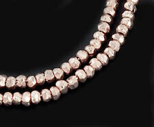 Karen Hill Tribe Silver 20 Tubular Beads 1.8x10.5mm.8.5 inches