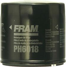 2 PACK FRAM OIL FILTER SUZUKI PART# PH6018 NEW