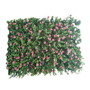 Artificial Lawn Grass Plant Flower for In/Outdoor Wall Background Decor 4#