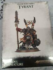 OGOR TYRANT Mawtribes Gutbusters AoS Warhammer Ogre Kingdoms New Sealed