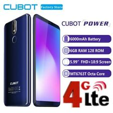 6GB+128GB 6000mAh 20MP SAMSUNG KAM Cubot Power 4G Handy Android8.1 Smartphone DE