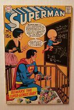 SUPERMAN #224 (DC COMICS 1970) HIGH GRADE EARLY BRONZE-AGE SUPERMAN COMICS!