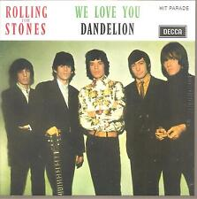 "ROLLING STONES ""We Love You / Dandelion"" 7 INCH VINYL Single 2016 sealed"