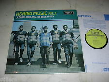 Ashiko Music vol.2 I.K. Dairo M.B.E. and his Blue Spots * UK DECCA VINILE' 72 * NM *
