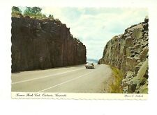 KAMA ROCK CUT, ON THE CIRCLE ROUTE, TRANS CANADA HIGHWAY #17  ONTARIO POSTCARD