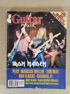1983 Nov Issue GUITAR PLAYER Vintage Magazine IRON MAIDEN Ray Flacke