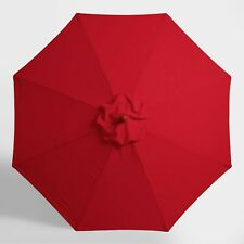 Umbrella Canopy Top Cover Replacement Market Beach Umbrella 9' Cherry Red