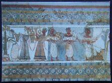 Greece Herakleion Museum Stone Sarcophagus From Haghia Triada Postcard (P248)