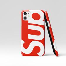 Supreme iPhone Case | Supreme Phone Case | iPhone 11 X 10 8 7 6 Plus Pro