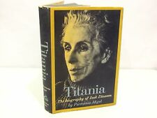 TITANIA - The Biography of ISAK DINESEN HCDJ OUT OF AFRICA AUTHOR