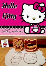 Hello Kitty cookie cutter STANTUFFO Sugarcraft Fondente Decorazione Per Torta Set Press