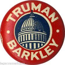 Classic 1948 Truman Barkley Capitol Rotunda Campaign Button (1871)