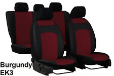 FORD MONDEO Mk3 2001-2007 ECO LEATHER SEAT COVERS MADE TO MEASURE FOR CAR ek3