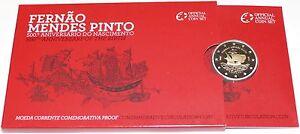 2 Euro Commémorative de Portugal 2011 Belle Épreuve (BE) - Fernão Mendes Pinto