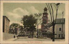 Biddeford ME City Square c1910 Postcard