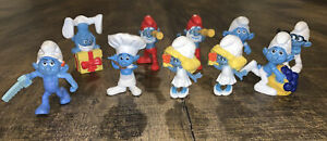 Smurfs 2011 PEYO 10 Piece Lot Made for McDonald's Happy Meal
