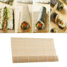 Japonais NATTE A SUSHI EN BAMBOU Roll Mat tapis CUISINE JAPONAISE 23cm x 24cm
