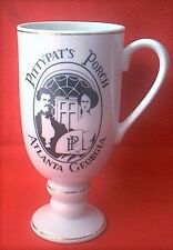 Pitty Pat's Porch Atlanta Georgia Porcelain Souvenir Mug Cup Gold Trim PittyPats