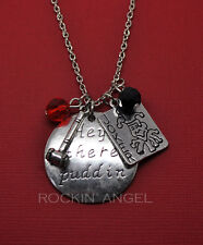 'Hey There Puddin' Harley Quinn DC Suicide Squad Pendant Necklace, Ladies Gift