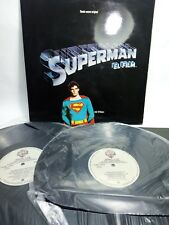 SUPERMAN BANDA SONORA ORIGINAL de JOHN WILLIAMS DISCO VINILO 2 LP