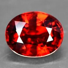2.22 Cts Real Deep Fanta Wine Red Spessartite Garnet Oval Cut Unheated Namibia $