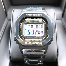 Casio G-shock Limited Edition Full Metal Titanium DLC Black Square Watch