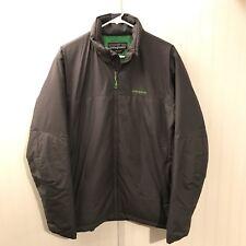 RARE Patagonia Puffy Primaloft Winter Jacket Coat Men's Large Grey Green