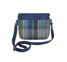 EARTH Squared - Sac bandoulière messager - LAINE TWEED - Port - 29x15x5cms