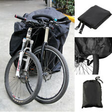 For 2 Bike Cycle Bicycle Rain Snow All Weather Cover Waterproof Storage New