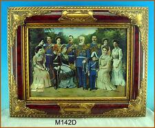 Gemaelde Bild Barock Bilderrahmen König Kaiser M142D